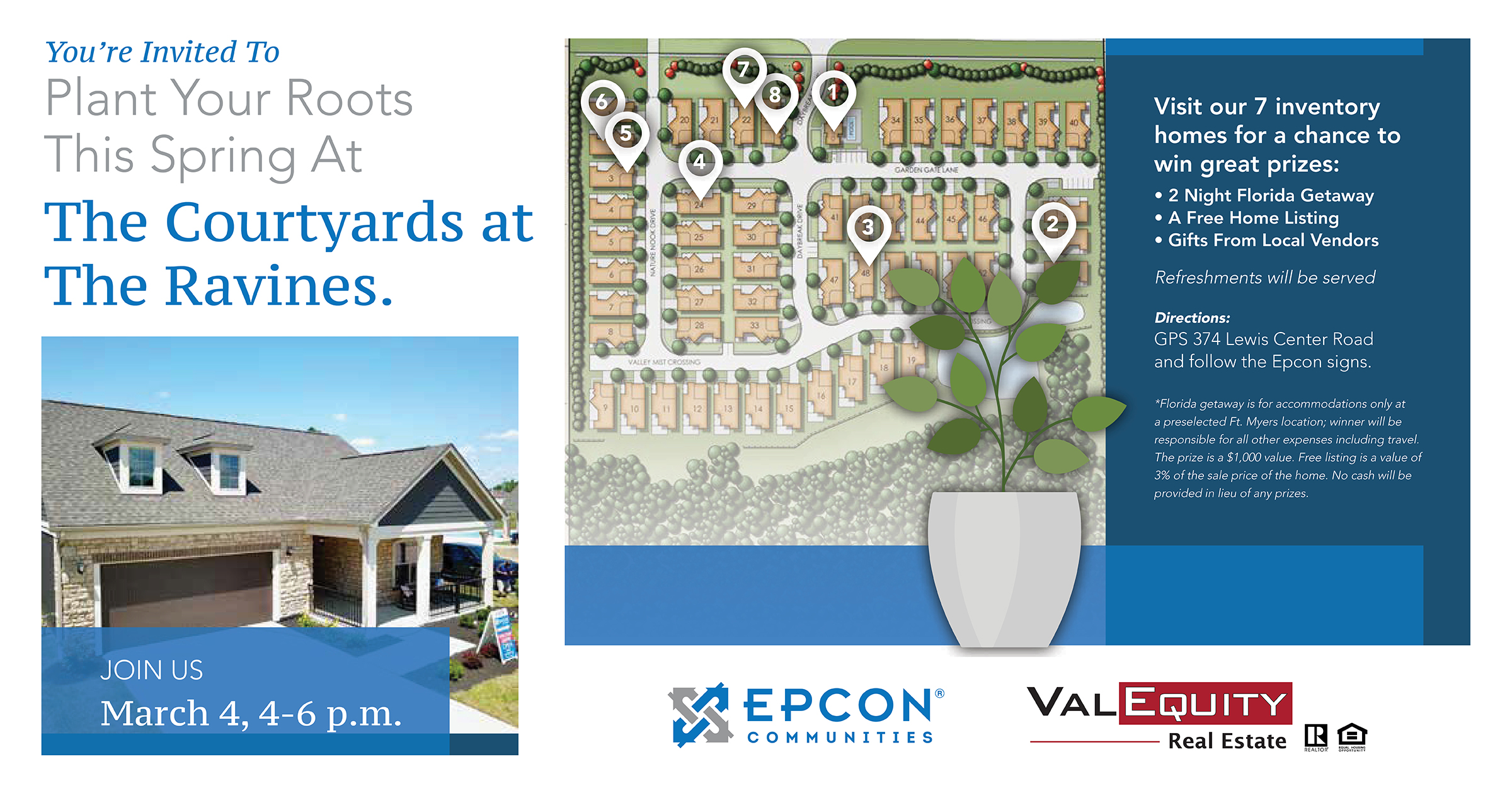Epcon Communities and ValEquity Real Estate Open House